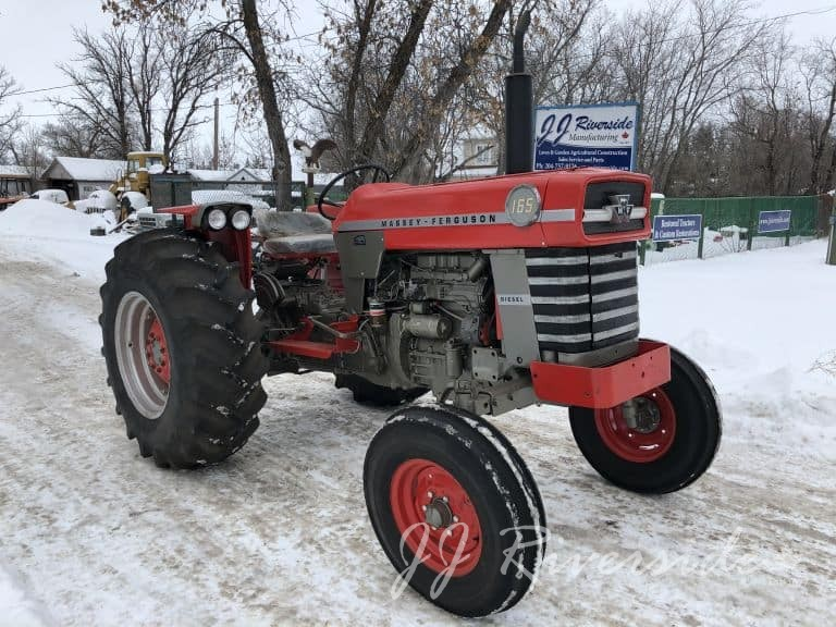Massey Ferguson 40 - Gas Rebuilt Tractor (Loader)