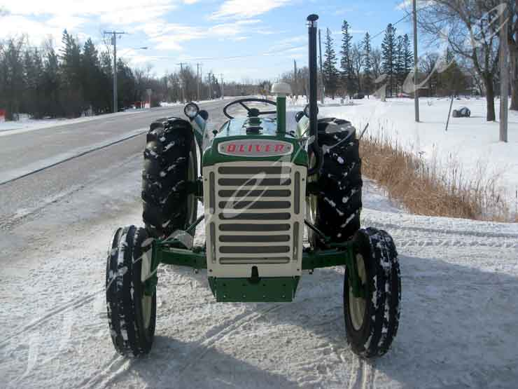 Oliver 550 - Gas Rebuilt Tractor