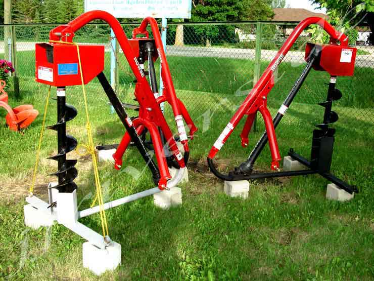 3PH Post Hole Augers